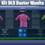 kit dream league soccer daster wanita